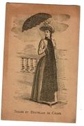 1889, Fabricants De Tulles Et Dentelles De Calais Admis à L'Exposition De 1889 - 2 Scans - Publicités