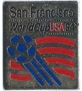 FOOTBALL - F14 - COUPE DU MONDE DE FOOT USA 94 - WORD CUP USA 94 - SAN FRANCISCO - Verso : 1992 ISL STARPIN'S - Football