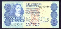 """South Africa 2 Rand """"Without Security Thread (1981)"""" P118b AUNC - South Africa"""