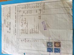 VOGHERA-23-6-1936-DITTA DEVANI LORENZO-ALIMENTARI-COLONIALI - Italia