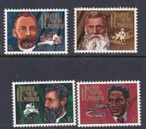 Papua New Guinea SG 227-230 1972 Missionaries Mint Never Hinged Set - Papoea-Nieuw-Guinea