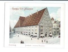 Chromo MAUTHALLE Nuremberg Ancienne Douane Pub: Van Houten 145 X 105 Mm Bien - Van Houten