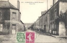 CPA Saint-Georges-sur-Erve Route D'Izé - Otros Municipios