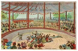 Charleroi - Exposition De 1911 - Luna-Gardens Attractions - La Roue Joyeuse, Edit. A. Gilles, Bruxelles - 2 Scans - Charleroi