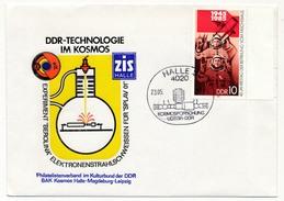 """Allemagne DDR - Enveloppe """"DDR-Technologie Im Kosmos"""" - 1985 - Brieven & Documenten"""
