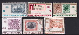 Papua New Guinea SG 260-265 1973 Stamp Anniversary Used Set - Papua New Guinea