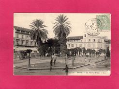 ALGERIE, BONE, La Place D'Armes, Animée, (L. L.) - Andere Städte
