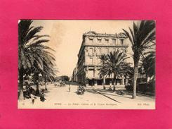 ALGERIE, BONE, Le Palais Calvin Et Le Cours Bertagna, Animée, (ND Phot) - Andere Städte