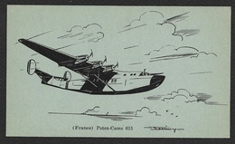 POTEZ-CAMS 631 Illustrateur War Prisoners In Germany - 1946-....: Modern Era