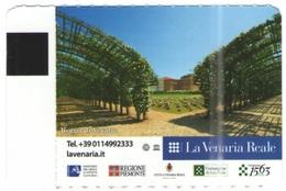 TORINO - La Venaria Reale - Biglietto D'ingresso Gratuito Con Torino Card - Usato - Biglietti D'ingresso