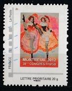 France : Timbre Personnalisé : Montreuil 2012 - France
