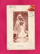 ALGERIE, Kabyle En Prière, 1911, (J. Geiser) - Algérie