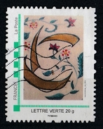 France : Timbre Personnalisé : Art Contemporain - France