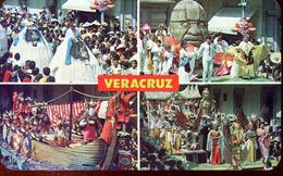 Veracruz - Varios Aspectos Del Gran Carnaval En Vercruz (000447) - Mexiko