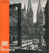 Deutschland - Bremen 30er Jahre - 26 Seiten 52 Abbildungen In Englischer Sprache - Dépliants Turistici
