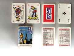 JEU DE 52 Cartes Mini Pastis 51 Avec Boite, Jokers Et Notice - Playing Cards (classic)