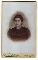 Fotografie Ed. Unterberger, D. Matrei, Portrait Junge Frau Mit Halskette - Anonyme Personen