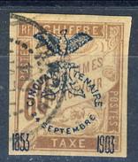 Nouvelle Caledonie Tasse 1903 N. 13 C. 60 Bruno Usato Cat. € 110 - Segnatasse