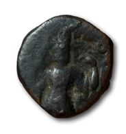 ½ Tetradrachm Vasudeva I - Inde Antique (Kushan) - Monnaies Antiques