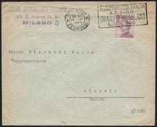 EQUESTRIAN SPORTS - ITALIA MILANO FERROVIA 1924 - GRAN PREMIO MILANO A S. SIRO - TARGHETTA 5° TIPO - Ippica