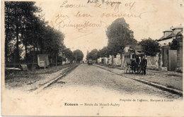 ECOUEN - Route Du Mesnil-Aubry  - Attelage (Patache)   (97323) - Ecouen