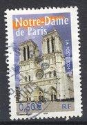 France 2004 - Oblitéré - Y&T N° 3705 - Portraits De Régions - Notre Dame De Paris - France
