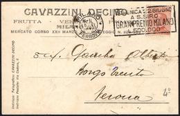 EQUESTRIAN SPORTS - ITALIA MILANO FERROVIA 1924 - GRAN PREMIO MILANO A S. SIRO - TARGHETTA 4° TIPO - Ippica
