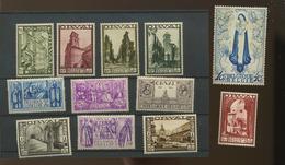 1933 Grande Orval  Série Phare De Belgique  363/374 *   Cote 1100 E - Belgique