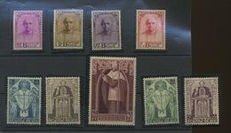 Cardinal Mercier  342/350*  Série Top De Belgique  Très Légère Trace   Cote 600 E - Belgium