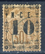 Nouvelle Caledonie 1891-92  N. 12a C. 10 Su C. 30 Bruno Usato Cat. € 25 - Nuova Caledonia