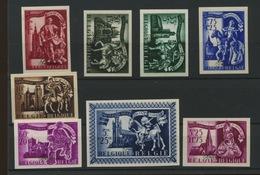 631/639  St Martin  Non Dentelés De Belgique Tirage 200 Exemplaire - Imperforates