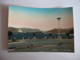 CARTOLINA -  LAVENO E IL SUO LAGO    - B 2233 - Varese