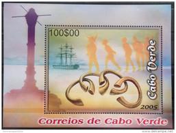Cabo Verde 2006 - Patrimonio Subaquatico Underwater Sous-marin Culture Giant Stamps Bloc Sheet Block MNH** - Isola Di Capo Verde
