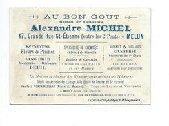 Chromo MEULIN Au Bon Goût Alexandre Michel MELUN Mme Sans-Gène Quelques Défauts 2 Scans 100 X 70 Mm - Chromos