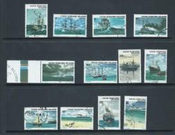 Cocos Keeling Island 1976 Ship Decimal Definitive Set 12 FU Cds - Isole Cocos (Keeling)