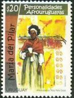 Uruguay 2015 ** Afro Uruguayos: María Del Pilar. Candombe, Cultura, Equidad. See Desc. - Música