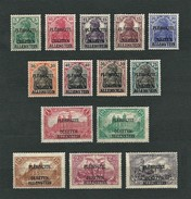 ALLENSTEIN 1920 - Vote In East Prussia (Plébiscite Olsztyn Allenstein) - MH - Mi:DR-AL 1-14 - Settori Di Coordinazione
