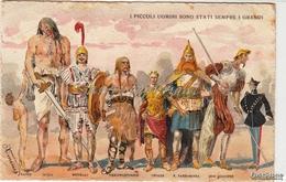 Caricatura_Caricature_Humor_Umorismo_I Piccoli Uomini Sono Stati Sempre I Grandi..Collegio Militare Di Roma_ Antica 100% - Humor