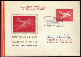 Austria Vienna 1959 / AUA Austrian Airlines / Wien - Athen - Kairo - Avions