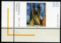BRD - Michel 2294 ECKE LIU - ** Postfrisch (A) - Gemälde Von Lyonel Feininger - [7] West-Duitsland