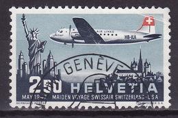 SWITZERLAND 1947  AIRMAIL Mi 479 USED - Poste Aérienne