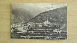 ITALIA TRENTINO CARTOLINA DA ALA TRENTO FORMATO PICCOLO VIAGGIATA - Trento