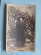 Familiefoto Periode W.O.1 Afstempeling STEENBERGEN Nederland 1917 Fam. Naegels > Antwerpen Fam. Delannoy België ! - Pays-Bas