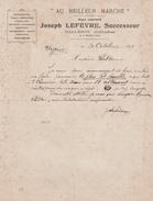 14 BALLEROY JOSEPH LEFEVRE AU MEILLEUR MARCHE - 1900 – 1949