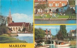 MARLOW, Multi View, 1985 Used Postcard [20166] - Buckinghamshire