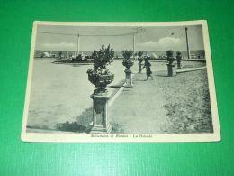 Cartolina Miramare Di Rimini - La Rotonda 1951 - Rimini