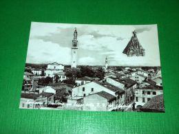 Cartolina Lendinara - Panorama Con Effige Della B. V. Del Pilastrello 1955 Ca - Rovigo