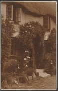 A Cornish Cottage, Cornwall, C.1930 - Judges RP Postcard - England