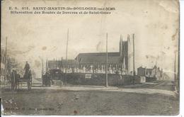 Saint Martin Les Boulogne - Bifurcation Des Routes De Desvres Et Saint Omer - France
