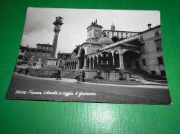Cartolina Udine - Piazza Libertà E Loggia S. Giovanni 1950 Ca - Udine
